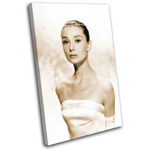 Audrey Hepburn Iconic Celebrities - 13-1958(00B)-SG32-PO